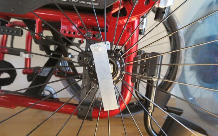 パンテーラ純正の「テトラ・クイック・リリース」を松永製作所のマックスプレジャーに取り付けしました。