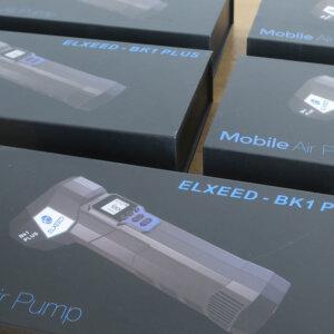車いすや自モバイル電動エアポンプ ELXEED BK1 Plus が大量入荷