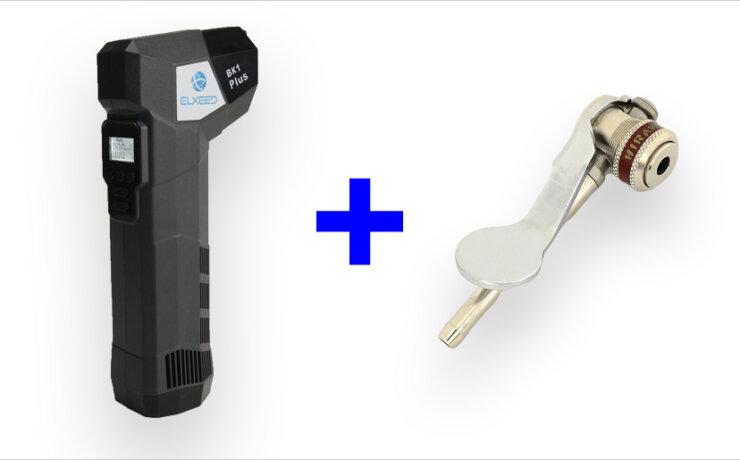 ELXEED BK1 Plus + HIRAME(モバイルエア+ヒラメポンプヘッド 横カム)