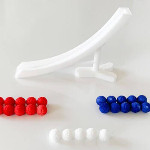3Dプリント商品「ボッチャ ミニランプセット」