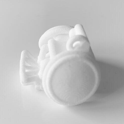 3Dプリント商品「車いすラグビー車:守備」