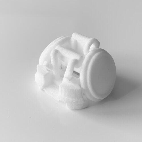 3Dプリント商品「車いすラグビー車:攻撃」