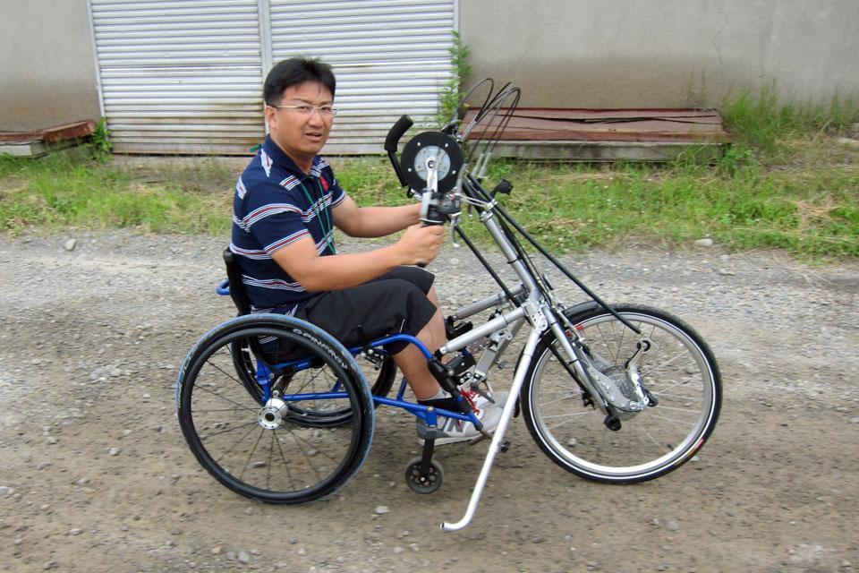 帯広・ハンドバイク試乗会を開催しました!