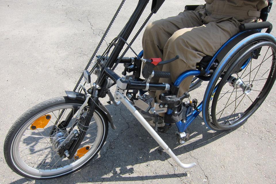 シュトリッカー社製ハンドバイク「シティ7」のデモ機を導入!