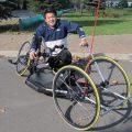 シュミッキング社製、レースタイプのハンドバイクを納車!