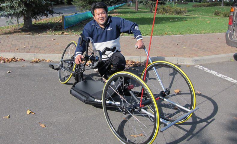 シュミッキング社製ハンドバイク納車!