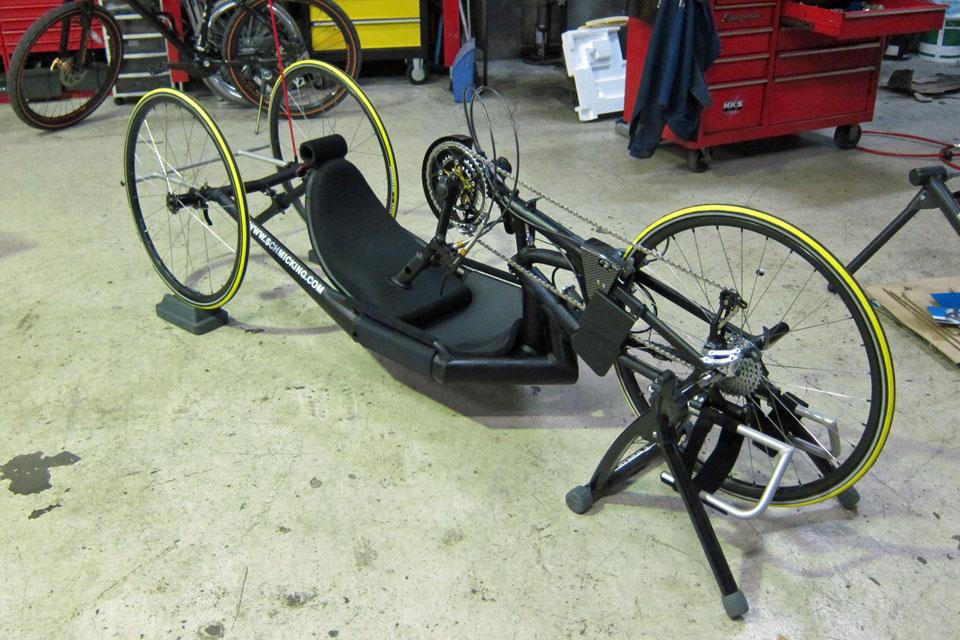 シュミッキング社製 ハンドバイク(ハンドサイクル)納車!