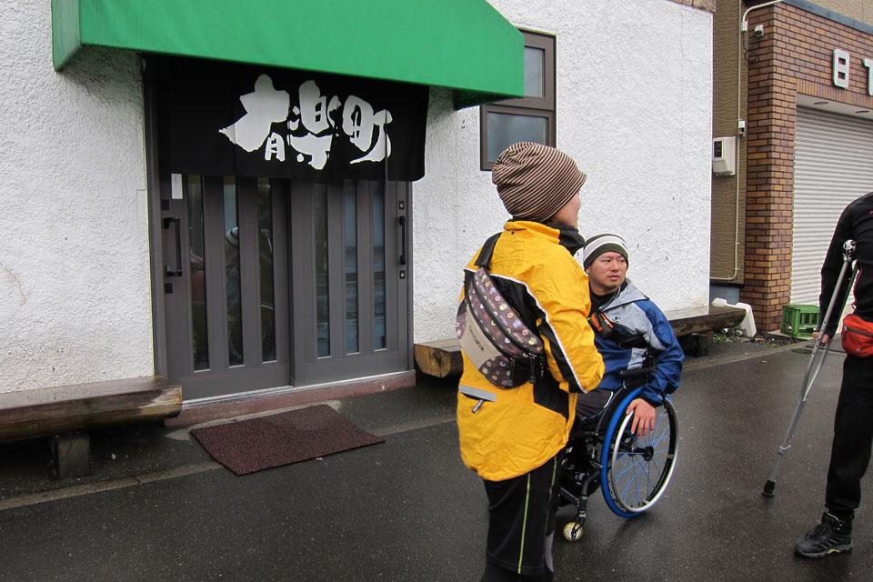 ハンドバイク交流 2011(帯広Days)