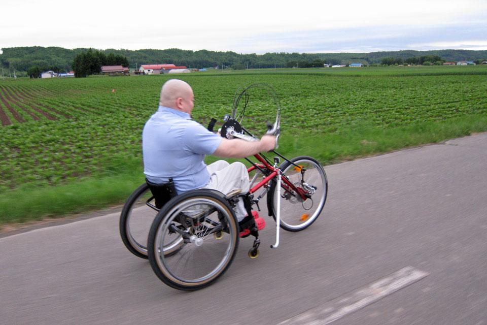 シュトリッカーハンドバイク「ウルトラ・スポーツ26」納車