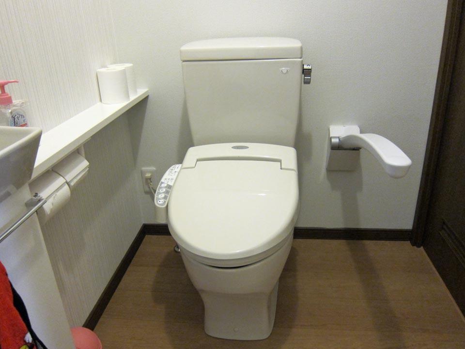 トイレ用、おしゃれな手すりのご紹介! EWC700