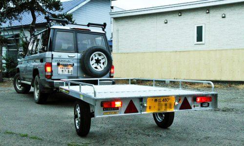 サントレックトレーラーのセットアップ作業から納車までの流れを赤裸々に公開!