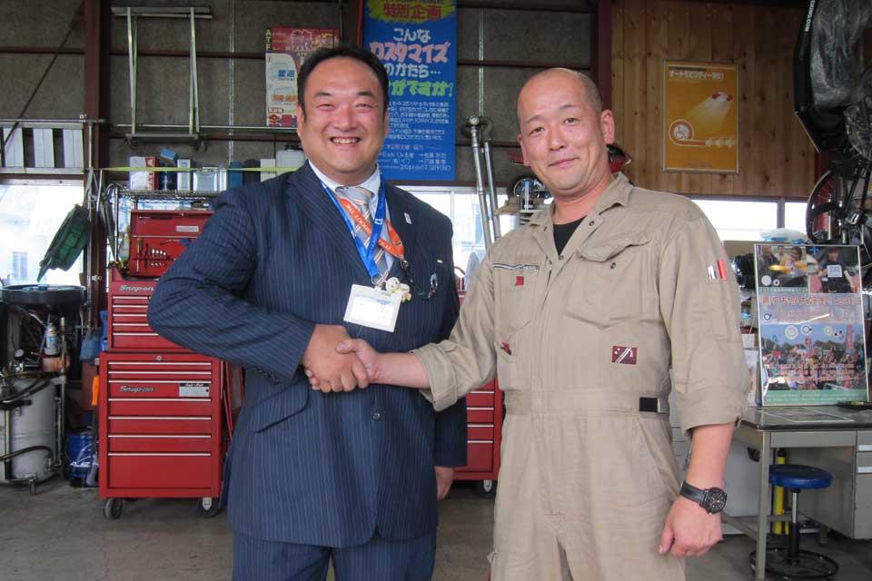 KAWAMURAグループ(川村義肢株式会社・パシフックサプライ株式会社)の川村 慶社長がイフにご来店下さいました!