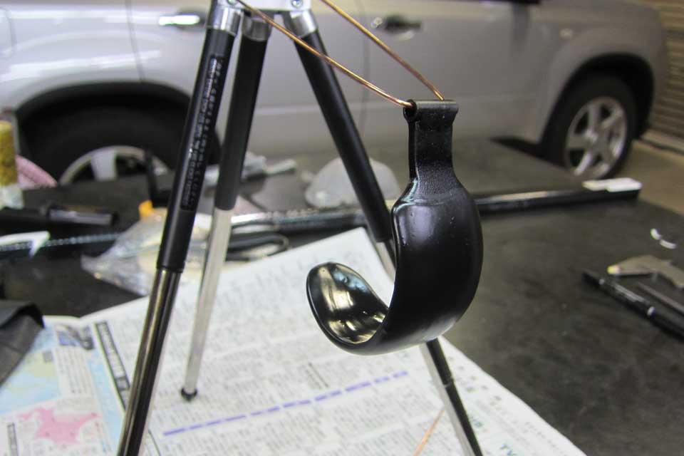 日産X-TRAIL ATセレクトレバー補助具製作