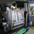 ハイエース200系 車いすリフト移設作業