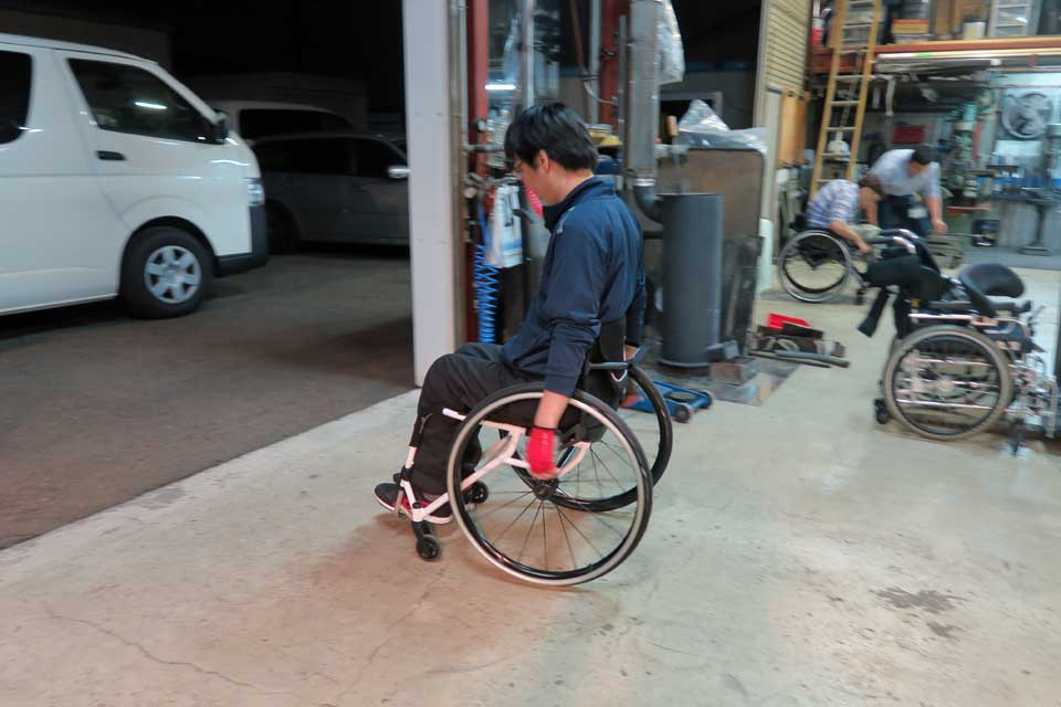 パンテーラ車いす体験試乗会開催