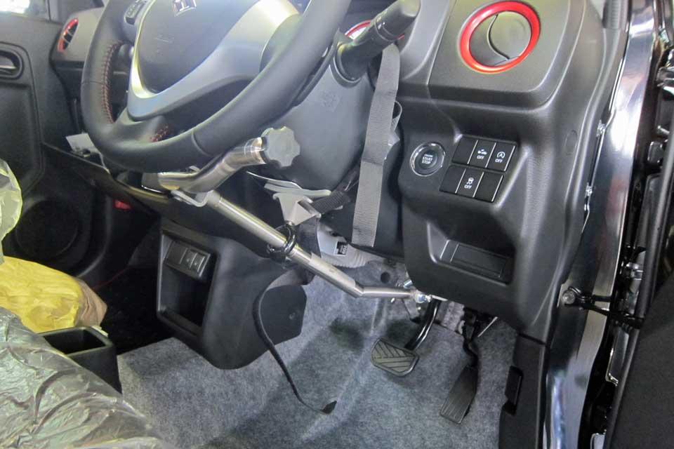アルトターボRSに901ハンドコントロール(手動運転装置)を装着!