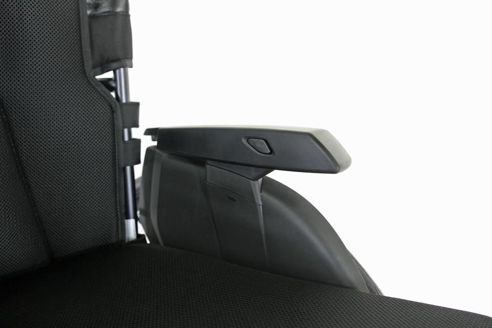 パンテーラ車いす U3Light 可動式アームレスト