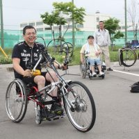 「帯広・ハンドバイク試乗会」を開催しました!