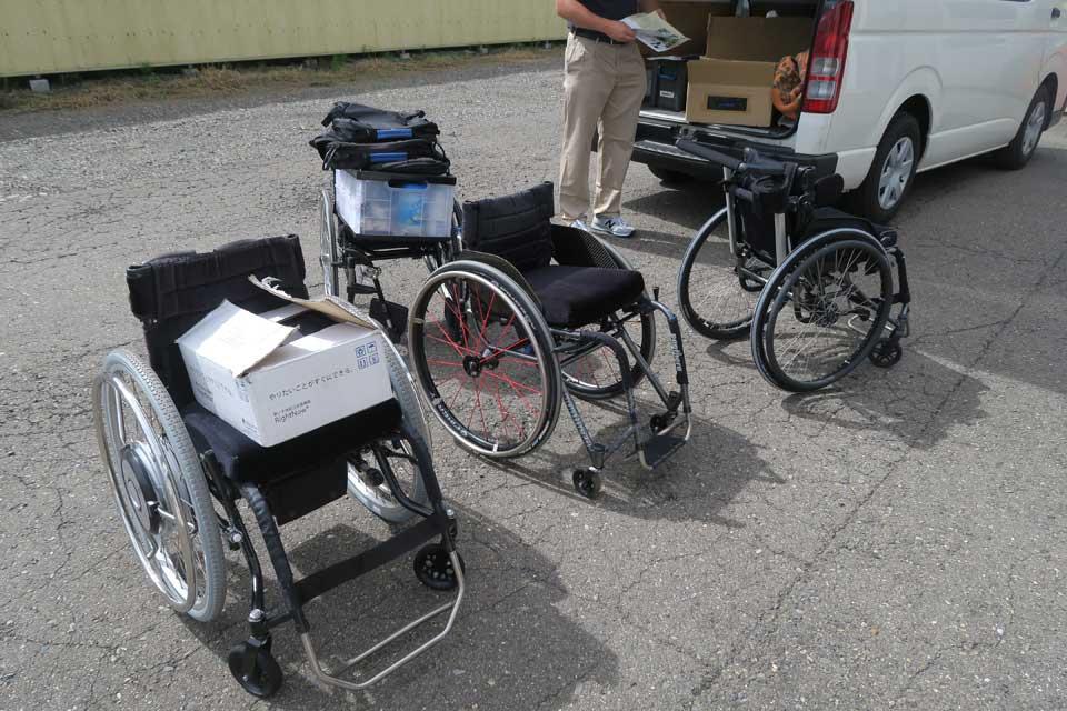 パンテーラ車いすの取扱講習が終了しました♪
