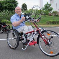 ハンドバイク「ウルトラ・スポーツ26」納車!