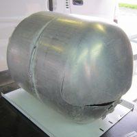 キャンピングカーのボイラータンクをTIG溶接修理!
