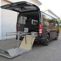 ハイエース200系 和光工業製 車いすリフト架装