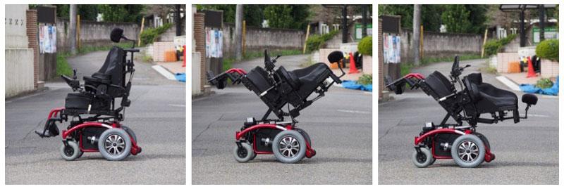 車いす工房 輪 らくらく多機能電動車いすブリッジTR