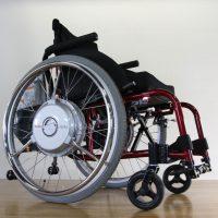 車いす用電動アシストユニット「JWX-2」装着の電動アシスト車いすのデモ車を導入しました!