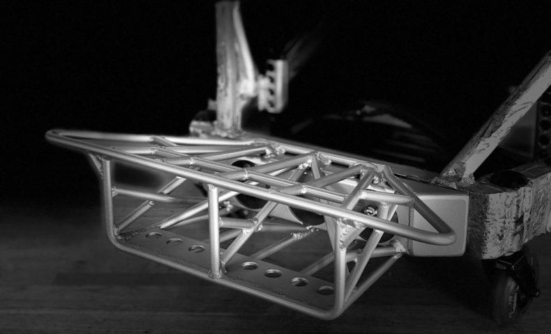 車いすラグビーマシンの特注バンパーを製作しました!