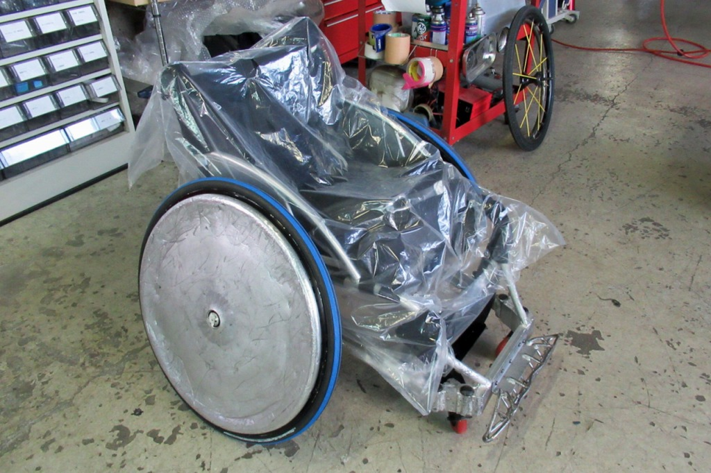 車いすラグビー(ウィルチェアーラグビー)特注バンパー製作