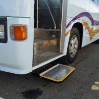 バス用 電動大型補助ステップの取付作業を赤裸々に公開します!
