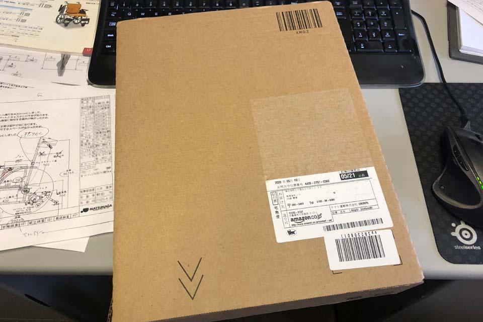 Amazonプライムのお急ぎ便で、ブツが届きました♪