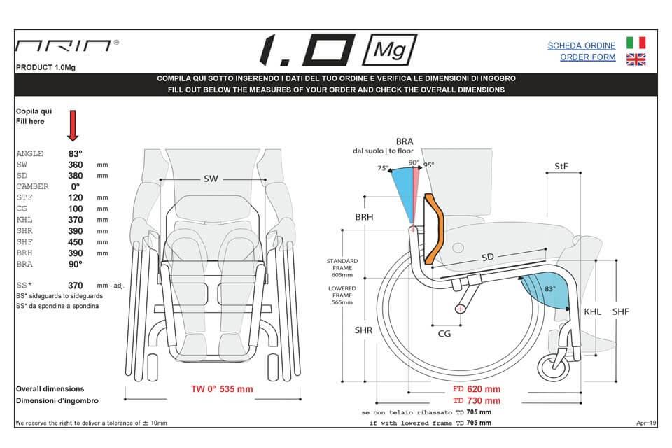 Aria Wheels 1.0Mg のオーダーフォームに、打ち合わせのたたき台となる第一弾のプランを落とし込み提出しました