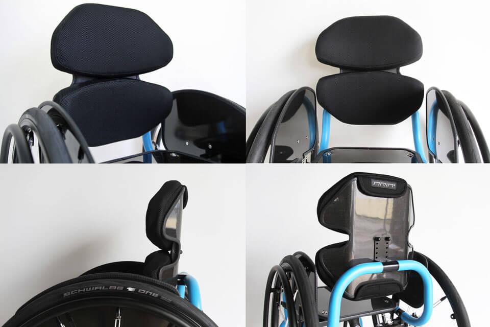Aria® Postural Backrests(ポスチュラル バックレスト)